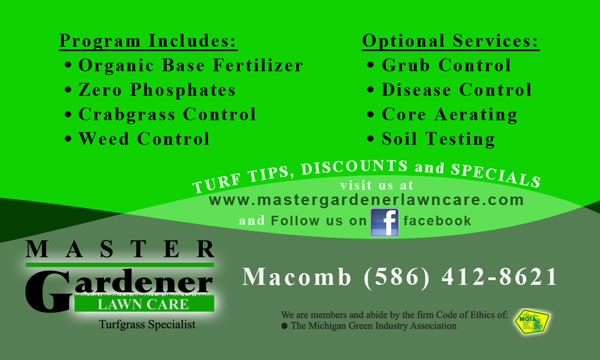 Lawn Fertilizing Service - Macomb County, MI